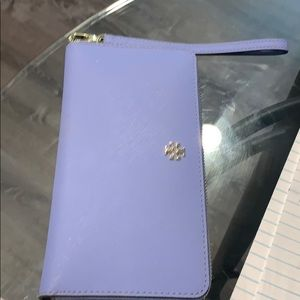 Tory Burch Travel Wallet Blue